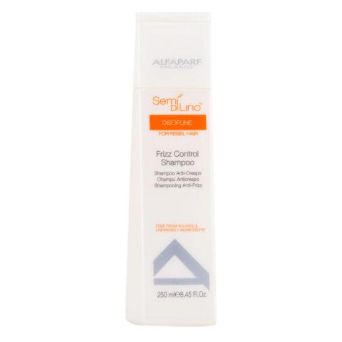 Alfaparf Semi di lino Discipline Frizz control shampoo 250ml - Shampooing anti-frisottis