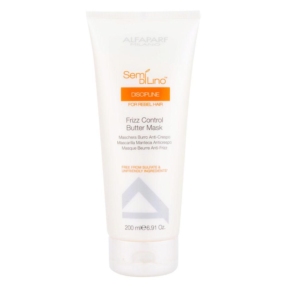 Alfaparf Semi Di Lino Discipline Frizz Control Butter Mask 200ml - Masque Anti-Frisottis
