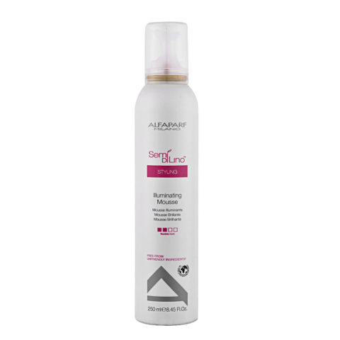Alfaparf Semi di lino Styling Illuminating mousse 250ml