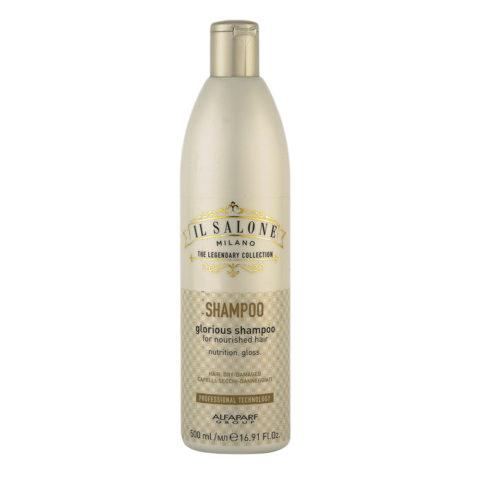 Alfaparf Il salone Glorious shampoo 500ml - shampooing pour cheveux secs et abîmés