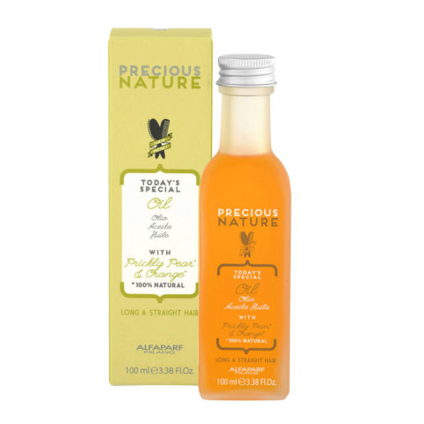Alfaparf Precious nature Oil with Prickly pear & orange pour cheveux Longs/lisses 100ml