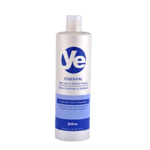 Alfaparf YE Yellow Essential ultra shampoo 500ml - Shampooing hydratant cheveux très secs