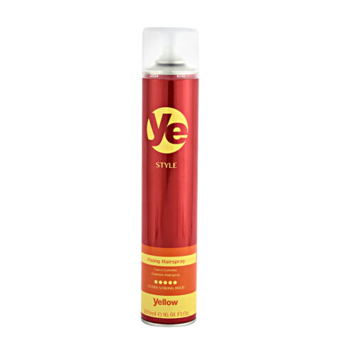 Alfaparf YE Yellow Style Fixing hairspray 500ml - Laque tenue forte