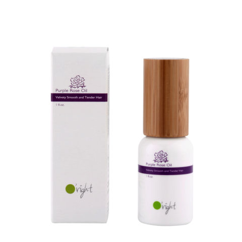 O'right Purple rose oil 30ml Huile cheveux fins, colorés et abîmés