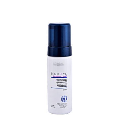 L'Oreal Serioxyl Aqua mousse Foam tech Densifying treatment cheveux trés sensibilisés 125ml