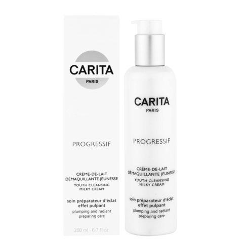Carita Skincare Progressif Creme de lait demaquillante jeunesse 200ml