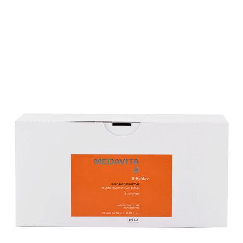 Medavita Lenghts ß-Refibre Reconstructive hair serum pH 3.2  24x10ml