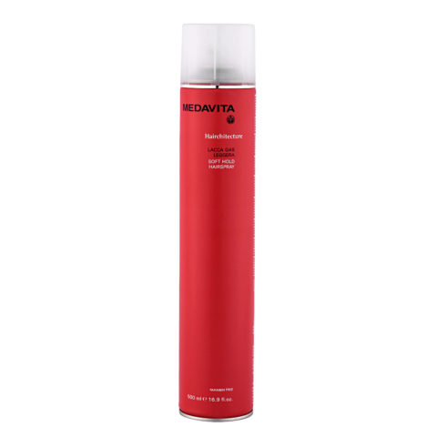 Medavita Lenghts Hairchitecture Laque gaz tenue souple  500ml