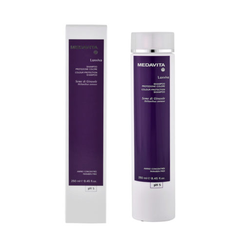 Medavita Lenghts Luxviva Shampooing Protection Couleur pH 5  250ml