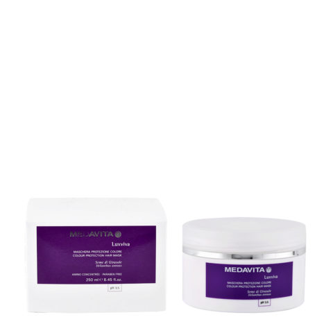 Medavita Lenghts Luxviva Colour protection hair mask pH 3.5  250ml