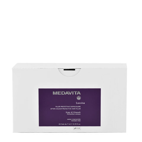 Medavita Lenghts Luxviva Émulsion protectrice après coloration pH 3.5  24x7ml