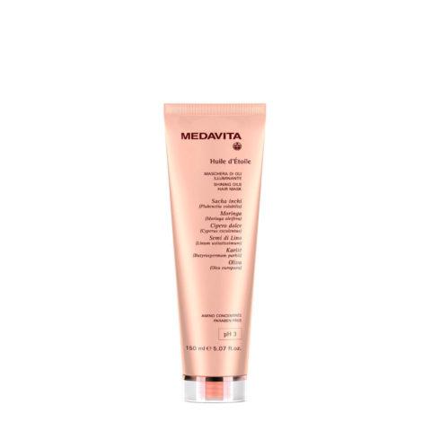 Medavita Lunghezze Huile d'etoile Shining oils hair mask pH 3  150ml
