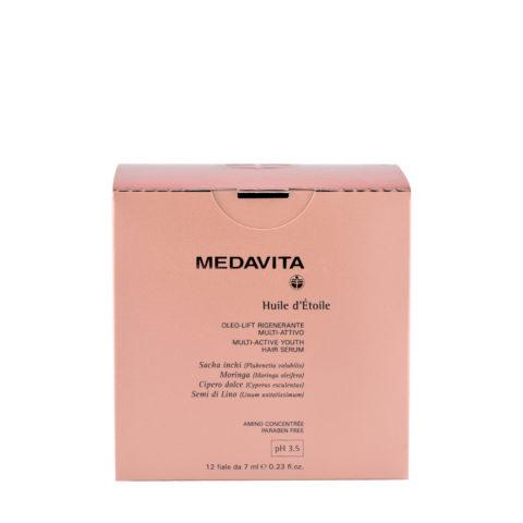 Medavita Lunghezze Huile d'etoile Sérum régénérant multi-actif  pH 3.5  12x7ml