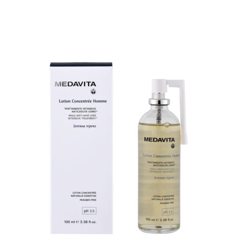 Medavita Scalp Lotion concentree homme Traitement intensif anti-chute pH 3.5   100ml - pour hommes