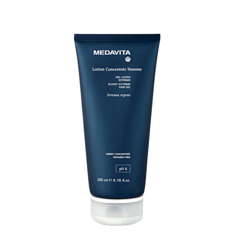 Medavita Cute Lotion concentree homme Glossy extreme hair gel  200ml - Gel brillant extrême
