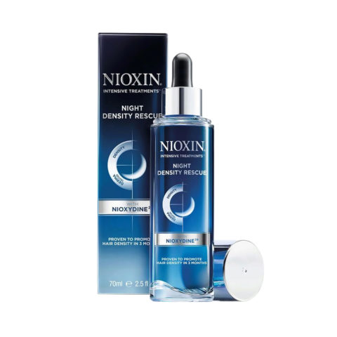 Nioxin Night density rescue 70ml - serum nuit
