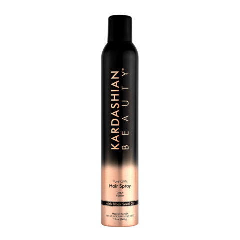 Kardashian beauty Pure glitz Hair spray 340gr -Laque volumisante et brillante