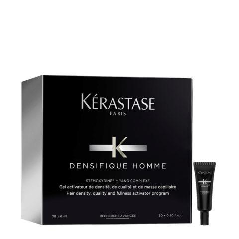 Kerastase Densifique homme Flacons gel activateur 30x6ml - Pour Cheveux Fins