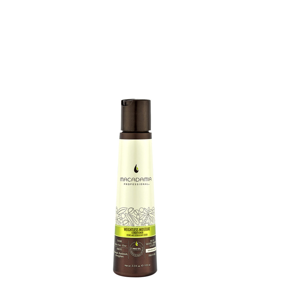 Macadamia Weightless moisture Conditioner 100ml - après-shampooing hydratant léger