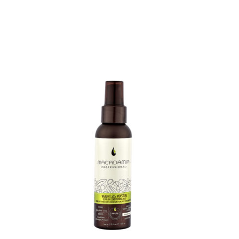 Macadamia Weightless moisture Leave-in conditioning mist 100ml - lait sans rinçage