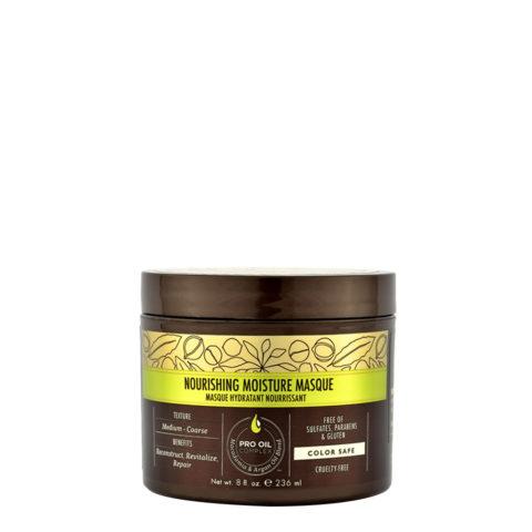 Macadamia Nourishing moisture Masque 236ml- Masque hydratant nutritif pour cheveux moyens à épais