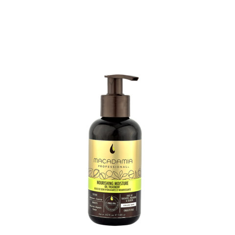 Macadamia Nourishing moisture Oil treatment 125ml - Soin en huile hydratant et nutritif