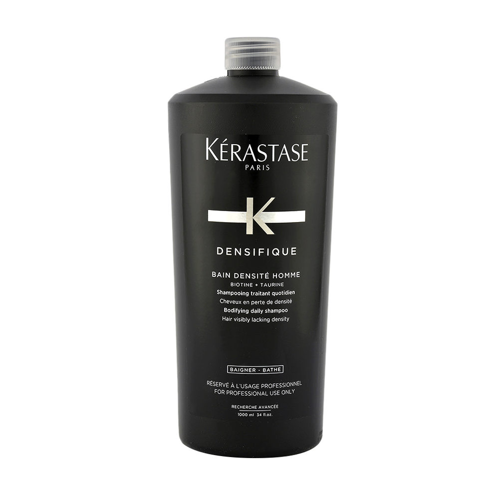 Kerastase Densifique Bain densite homme 1000ml - shampooing densifiant pour hommes