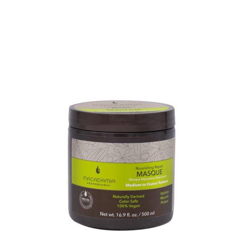 Macadamia Nourishing Repair Masque 500ml - Masque hydratant nutritif pour cheveux  moyens à épais