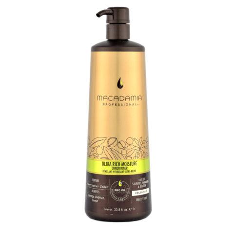 Macadamia Ultra-rich moisture Conditioner 1000ml - après-shampooing