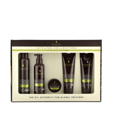 Macadamia Styling collection Pack - 5 produits