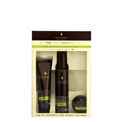 Macadamia Style kit Get the look Smooth curls - 3 produits