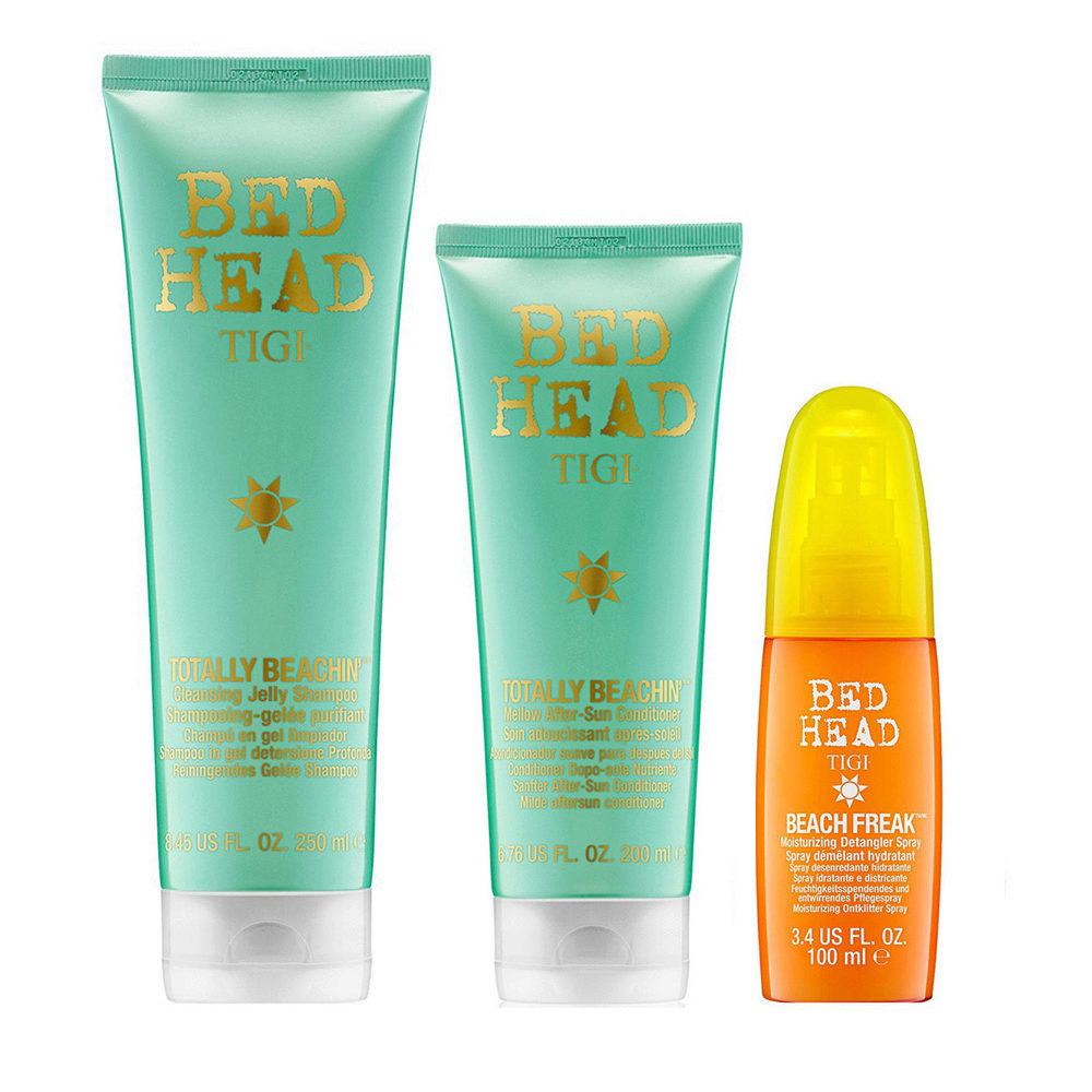 Tigi Bed Head Totally Beachin' Kit Shampoo 250ml Conditioner 250ml Beach freak 100ml
