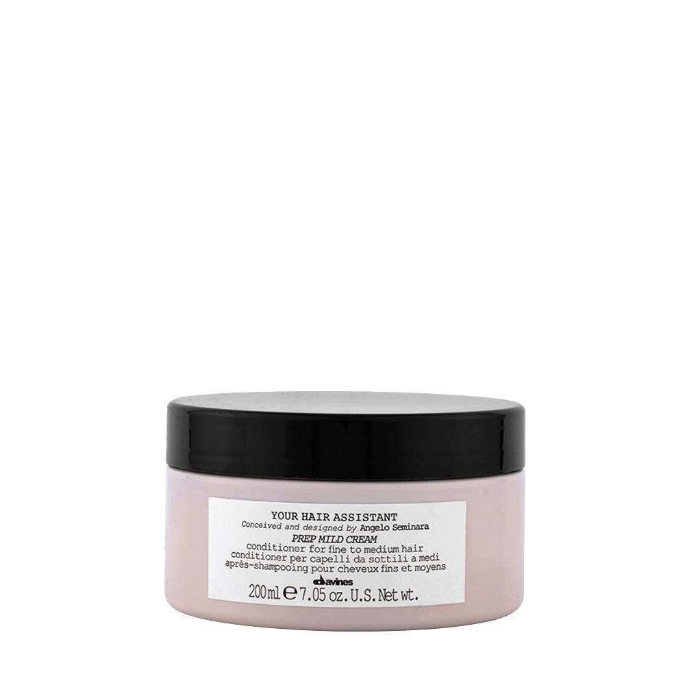 Davines YHA Prep mild cream 200ml - Conditionneur hydratant