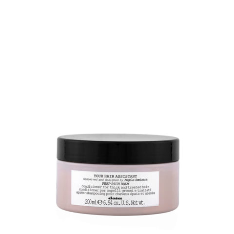 Davines YHA Prep Rich balm 200ml - Conditionneur hydratant