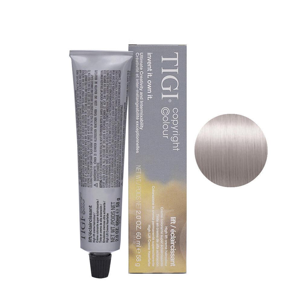 100/82 Blond ultra clair cendré irisé Tigi Lift 60ml