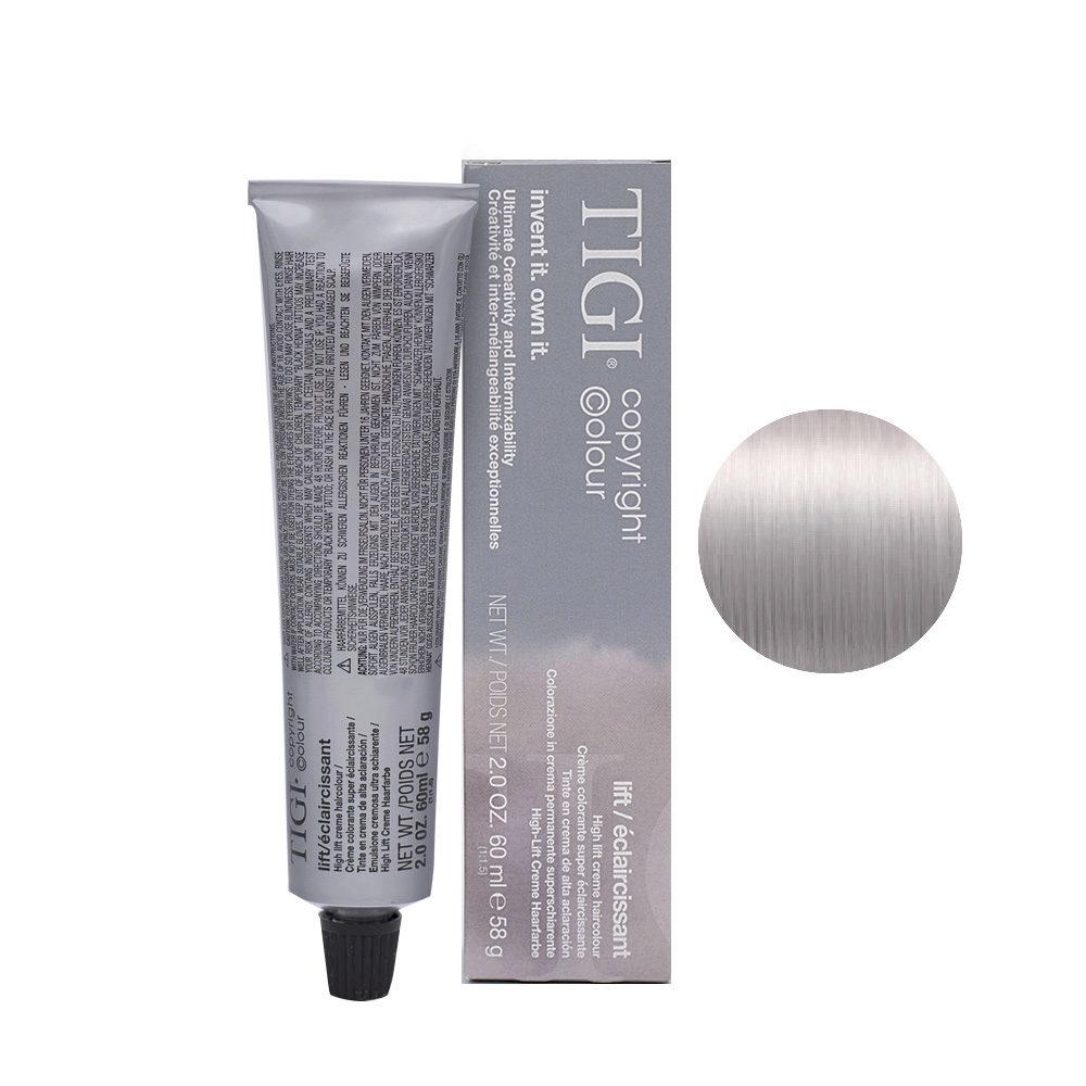 100/21 Blond ultra clair irisé bleuté Tigi Lift 60ml