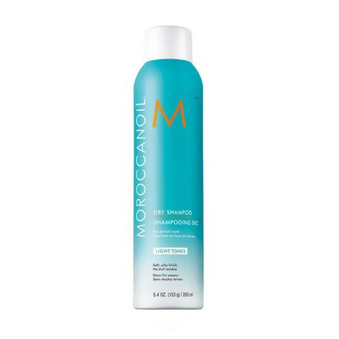 Moroccanoil Dry shampoo Light tones 205ml - Shampooing sec tons clairs