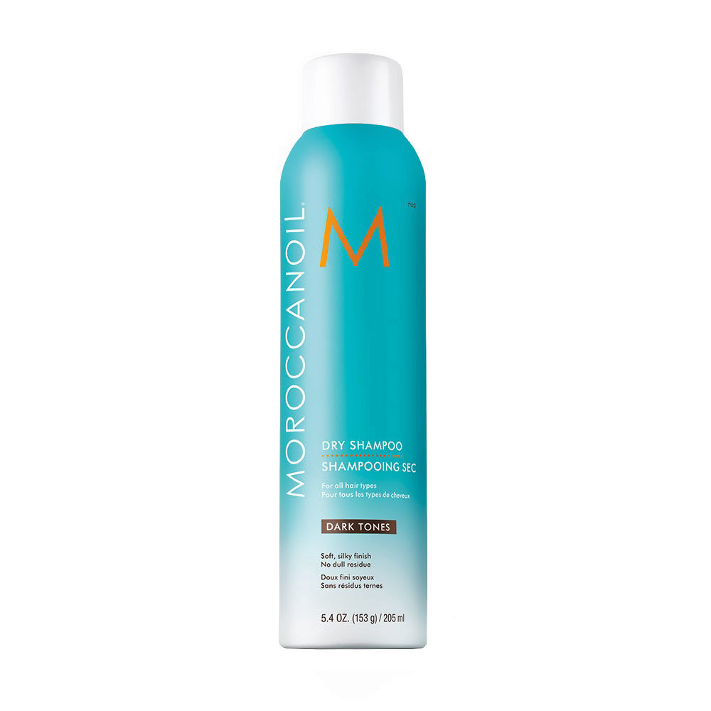 Moroccanoil Dry shampoo Dark tones 205ml - Shampooing Sec Cheveux foncés