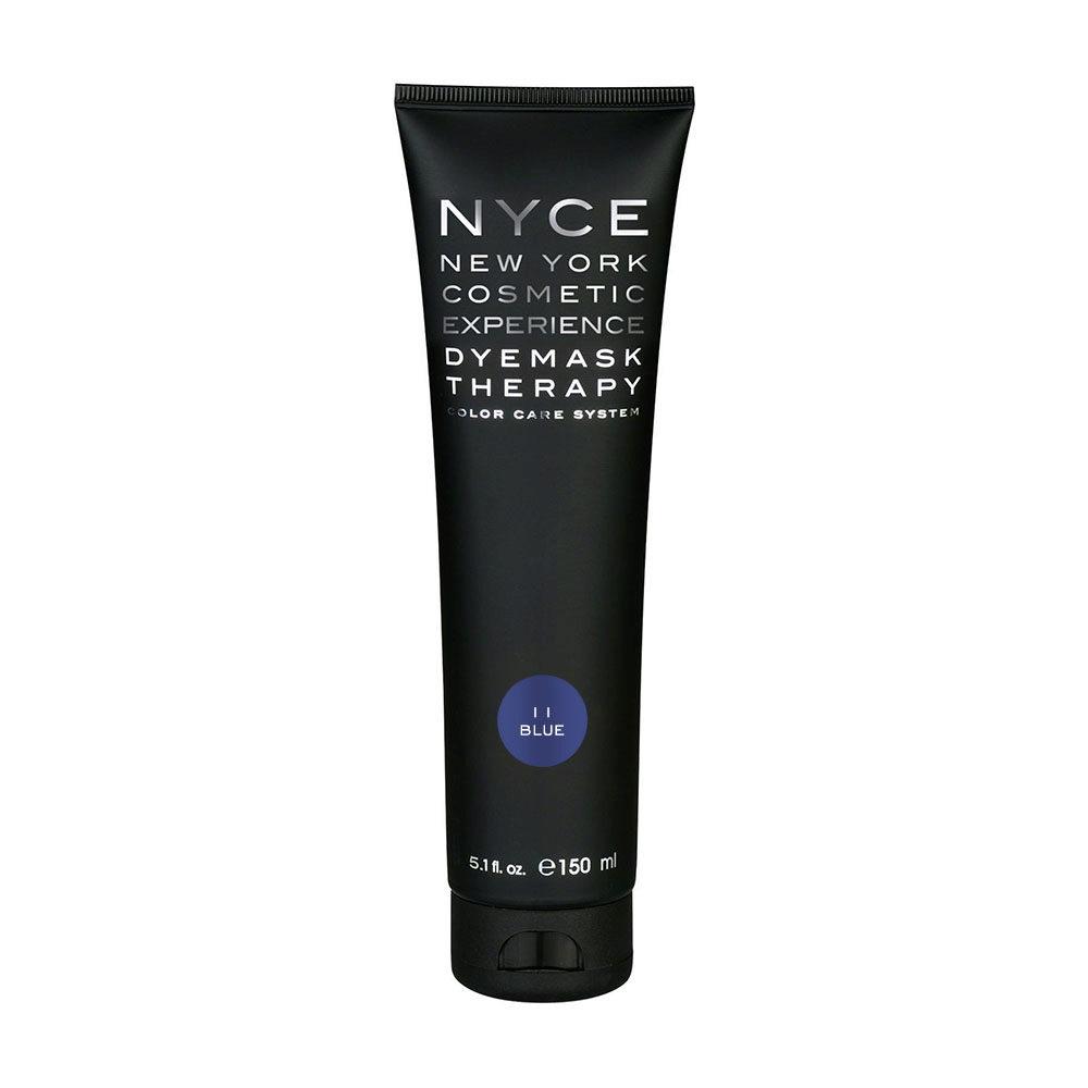 Nyce Dyemask .11 Blue 150ml - Masque Raviveur De Reflets
