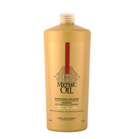 L'Oreal Mythic oil Shampoo Cheveux épais 1000ml
