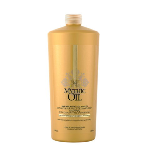 L'Oreal Mythic oil Shampoo Cheveux normaux à fins 1000ml