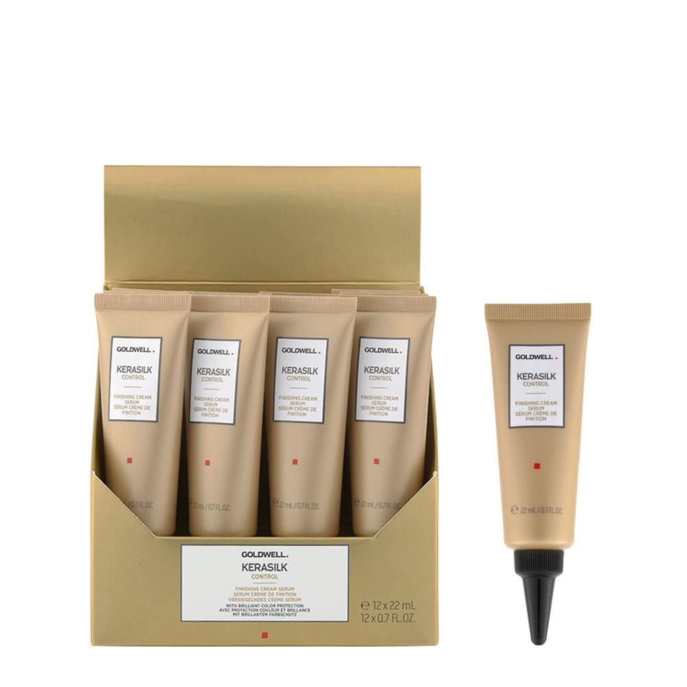 Goldwell Kerasilk Control Finishing cream serum 12x22ml - Sérum Anti Frisottis