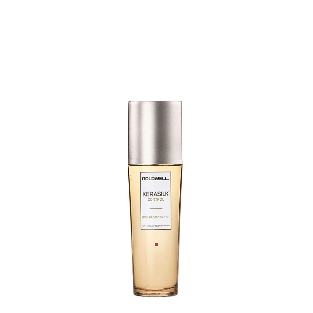 Goldwell Kerasilk Control Rich protective oil 75ml - Huile Cheveux