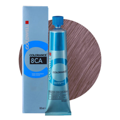 8CA Blond froid cendré clair Goldwell Colorance Cool blondes tb 60ml