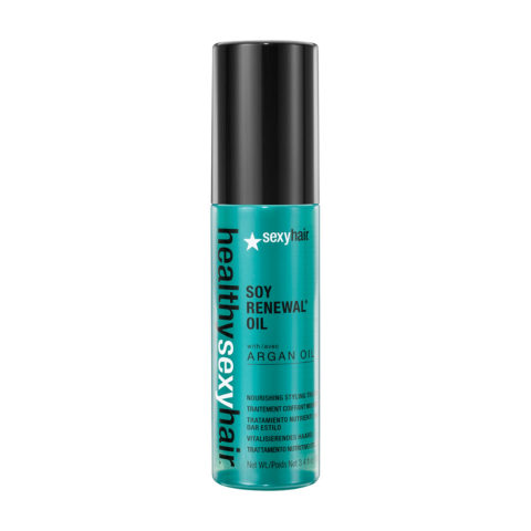 Healthy Sexy Hair Soy Renewal Oil Nourishing Styling Treatment 100ml - traitement styling liquide