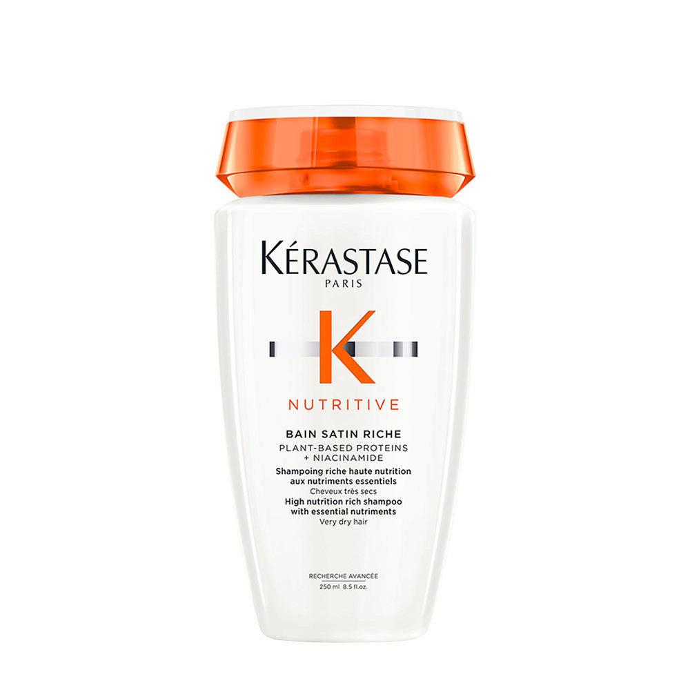 Kerastase Nutritive Bain satin 2, 250ml - shampooing pour cheveux secs et sensibilisés