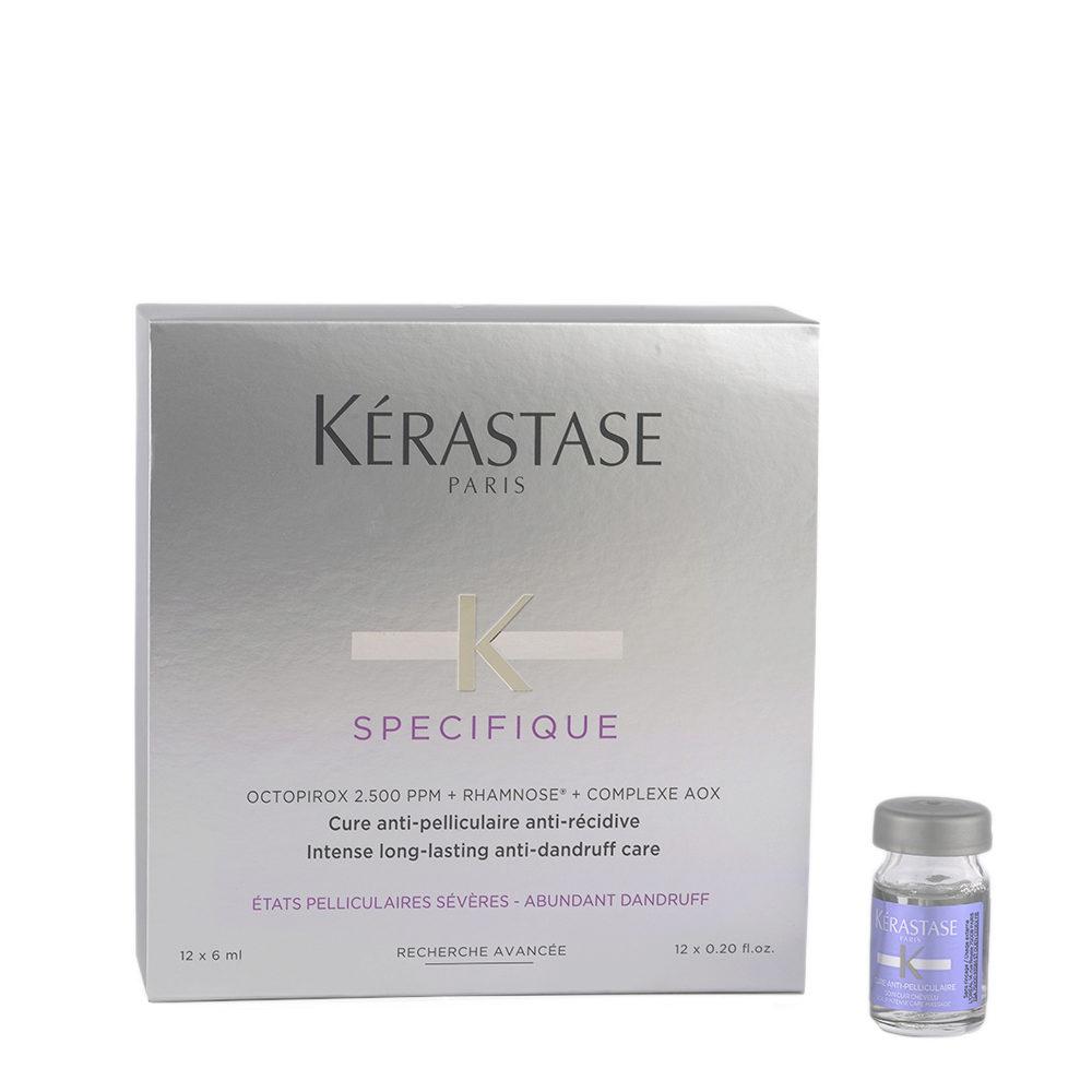 Kerastase Specifique Cure Anti pelliculaire anti récidive 12x6ml