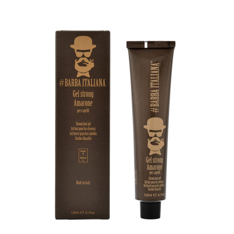 Barba Italiana Gel Strong per capelli Amarone 120ml - Gel Strong pour cheveux
