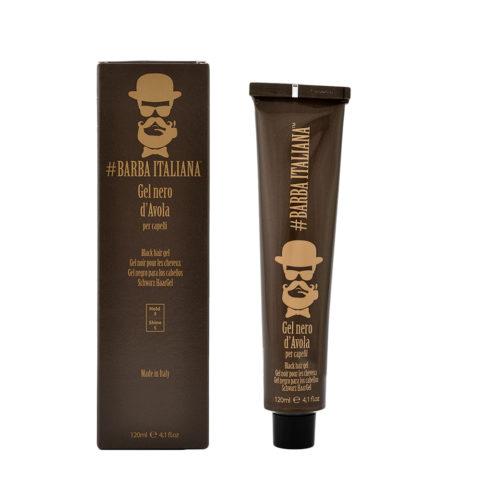 Barba Italiana Gel per capelli Nero d'Avola 120ml - Gel Noir pour cheveux