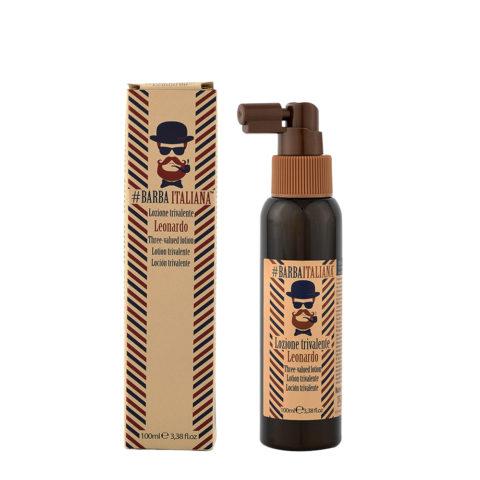 Barba Italiana Lozione trivalente Leonardo 100ml - Lotion trivalente